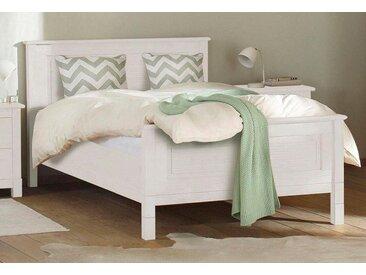 Home affaire Bett »Rauna«, aus massiver Kiefer in verschiedenen Größen, weiß, weiß