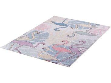 Sanat Teppiche Kinderteppich »Luna Kids 4609«, rechteckig, Höhe 12 mm, bunt, 12 mm, bunt