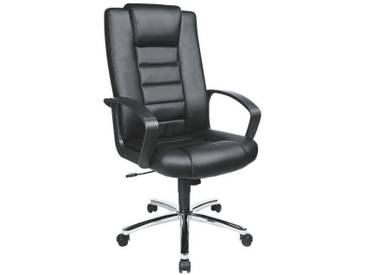 TOPSTAR Chefsessel mit Kunstlederbezug »Comfort Point 10«, schwarz, schwarz