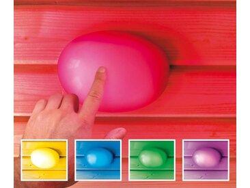 Karibu KARIBU Farblichtanwendung »Touch-Farblicht-Anwendung«, Ø/H: 14/3,5 cm, bunt, 3.5 cm, bunt
