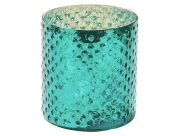 BUTLERS DELIGHT »Teelichthalter«, tuerkis, Höhe ca. 8 cm, Ø ca. 7 cm