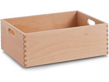 Zeller Present Holzkiste, für jeden Bedarf, natur, 40x30x15 cm, natur