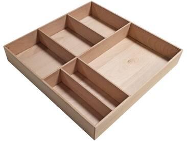 FACKELMANN Schubladeneinsatz »Stanford«, Buche, BxTxH: 38 x 37 x 4,5 cm, braun, buchefarben