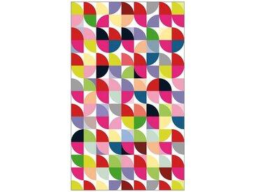 MySpotti MYSPOTTI Fensterfolie »mySPOTTI look Retro Pattern«, 60 x 100 cm, statisch haftend, bunt, 60 cm, bunt