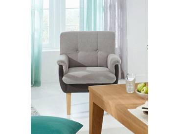 Guido Maria Kretschmer Home&Living GMK Home & Living Sessel «Luunja», in 2 Farben, grau, grau/anthrazit