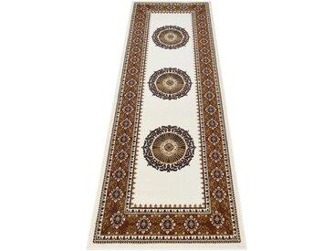 DELAVITA Läufer »Shari«, rechteckig, Höhe 7 mm, Orient - Dekor, natur, beige