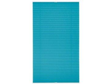 LICHTBLICK Plissee »Klemmfix«, Lichtschutz, ohne Bohren, verspannt, Faltenstore, blau, blau