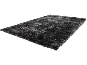 LALEE Hochflor-Teppich »Twist 600«, rechteckig, Höhe 32 mm, besonders weich durch Microfaser, grau, 32 mm, anthrazit