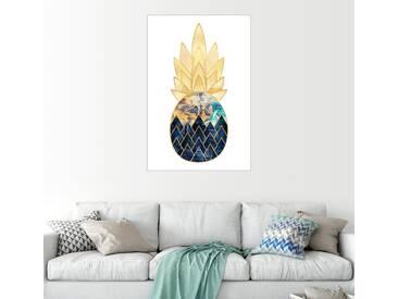 Posterlounge Wandbild - Elisabeth Fredriksson »Precious Pineapple 1«, weiß, Alu-Dibond, 80 x 120 cm, weiß