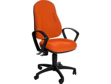 TOPSTAR Bürostuhl »Wellpoint 10«, orange, orange