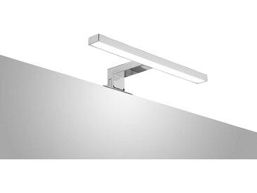 ADOB LED-Aufsatzleuchte »Spiegelleuchte«, 30 cm, silberfarben, eckig, silberfarben