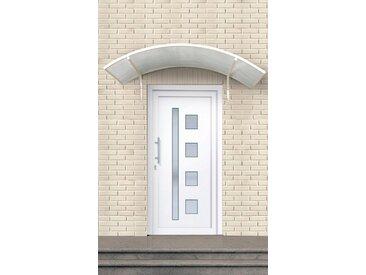 RORO Türen & Fenster Roro Kunststoff-Haustür »Luxemburg«, weiß, 110/210 cm, links, weiß