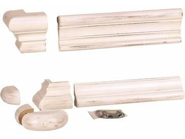 SIT Sockel- und Kranzleisten für Regal »Country Corner«, weiß, antik weiß