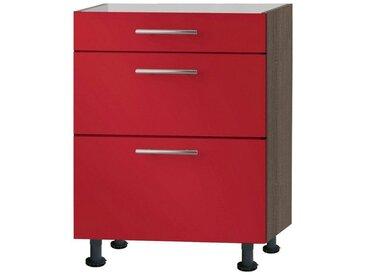 OPTIFIT Küchenunterschrank »OPTIkomfort Knud288«, Breite 60 cm, rot, rot