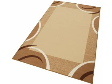 THEKO Teppich »Loures«, rechteckig, Höhe 6 mm, braun, 6 mm, braun