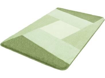 Kleine Wolke Badematte »Indiana« , Höhe 20 mm, rutschhemmend beschichtet, fußbodenheizungsgeeignet, grün, 20 mm, mint