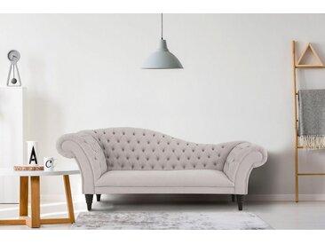 Home affaire 3-Sitzer »Chester«, mit Knopfheftung in Recamieren-Optik, grau, 240 cm, hellgrau
