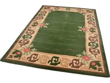 THEKO Teppich »Hawai 8005«, rechteckig, Höhe 14 mm, grün, 14 mm, grün