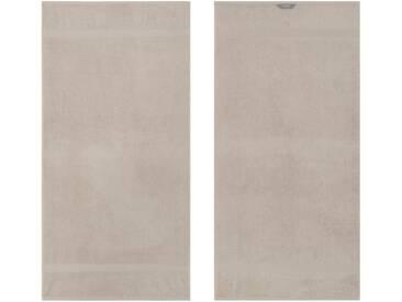 Egeria Handtücher »Diamant«, in Uni gehalten, grau, Frotteevelours, grau