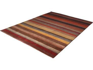 THEKO Teppich »Lori Astara 1025«, rechteckig, Höhe 16 mm, von Hand geknüpft, bunt, 16 mm, terra-multi