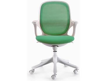 Amstyle Chefsessel »MAGLO«, grün, grün-weiss