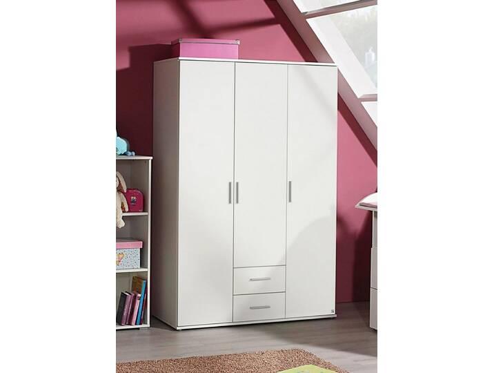 Kleiderschrank »Trelleborg« in alpinweiß, weiß, alpinweiß Weiß