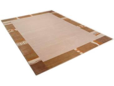THEKO Teppich »Avanti«, rechteckig, Höhe 12 mm, von Hand geknüpft, natur, 12 mm, beige