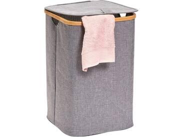 Zeller Present Zeller Wäschesammler, grau, Maße(B/T/H):(33/33/50), grau