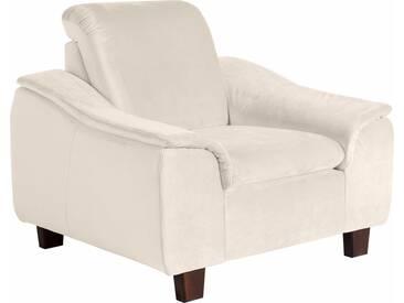 Max Winzer® Sessel »Alessio« mit abgerundeter Rückenlehne, weiß, weiß