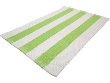 MEUSCH Badematte »Vickie« , Höhe 5 mm, rutschhemmend beschichtet, fußbodenheizungsgeeignet, grün, 5 mm, maigrün