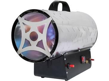 ROWI Gas-Heizgebläse »HGH 30000/4 R Inox«, 30 kW, silberfarben, silberfarben