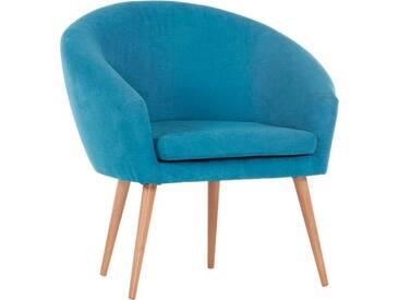 Gutmann Factory Sessel »Pietro« in toller Farbvielfalt, blau, blau