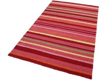 Esprit Kinderteppich »Bunte Streifen«, rechteckig, Höhe 15 mm, rosa, 15 mm, pink