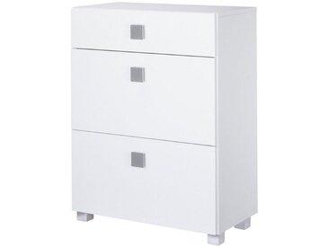 Schildmeyer Unterschrank »Quadra«, Breite 65 cm, weiß, weiß
