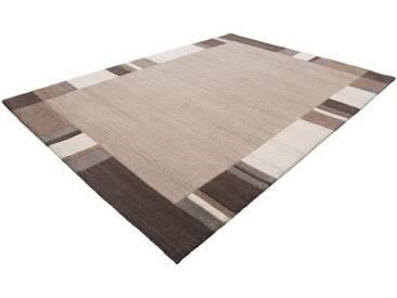 LALEE Teppich »Goa 953«, rechteckig, Höhe 18 mm, von Hand geknüpft, natur, 18 mm, beige