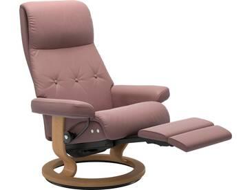 Stressless® Relaxsessel »Sky« mit Classic Base und LegComfort™, Größe L, Gestell naturfarben, rot, dusty rose PALOMA