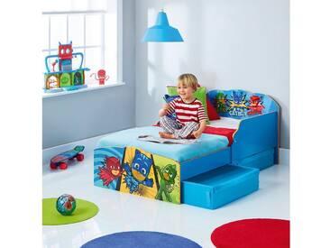 WORLDS APART Kinderbett de Luxe, mit 2 Schubkästen, PJ Masks, blau, 70 x, blau, 70 x 140, blau