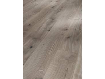 PARADOR Laminat »Eco Balance - Eiche basalt Grau«, 1285 x 194 mm, Stärke: 7 mm, braun, braun
