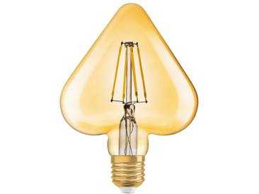 Osram LED-Lampe, Vintage-Edition »Vintage 1906 HEART 40 4.5 W/825 E27 GOLD«, goldfarben, gold