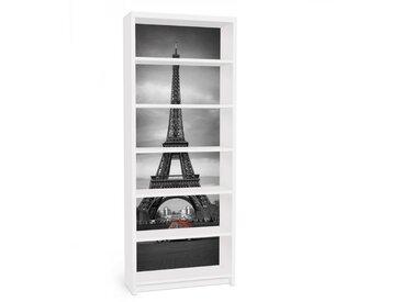 Bilderwelten Möbelfolie für IKEA Billy Regal »Spot on Paris«, bunt, Farbig