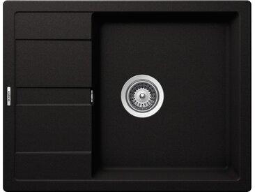 Schock SCHOCK Granitspüle »Lucca Plus«, ohne Restebecken, 65 x 50 cm, schwarz, schwarz