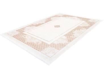LALEE Teppich »Almas 700«, rechteckig, Höhe 11 mm, natur, 11 mm, beige