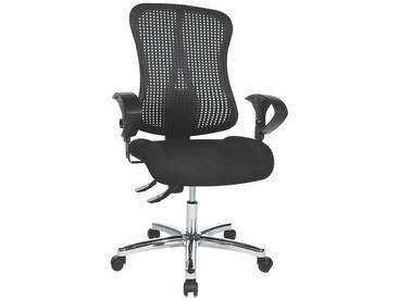TOPSTAR Bürostuhl mit Armlehnen »Sitness 90«, schwarz-schwarz