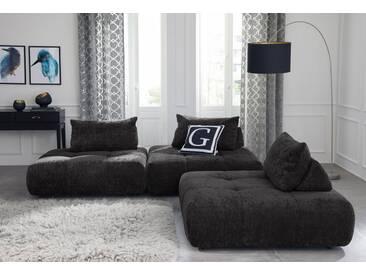 Guido Maria Kretschmer Home&Living GMK Home & Living Polsterecke »Eidum«, variabel, gleichschenklig, inklusive Kissen, grau, Gleichschenklig