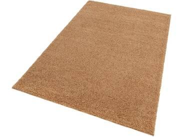 my home Hochflor-Teppich »Bodrum«, rechteckig, Höhe 30 mm, natur, 30 mm, sand