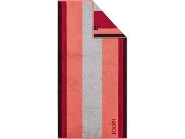 Joop! Handtücher »Diamond Stripes«, mit verschiedenen Streifen, rot, Walkfrottier, coral