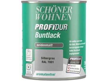 SCHÖNER WOHNEN-Kollektion Schöner Wohnen Farbe Buntlack »ProfiDur seidenmatt, 750 ml silbergrau«, grau, grau