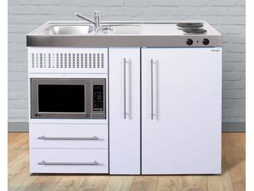 Stengel Miniküche »MPM 120« aus Metall in der Farbe Weiß, Breite 120, weiß