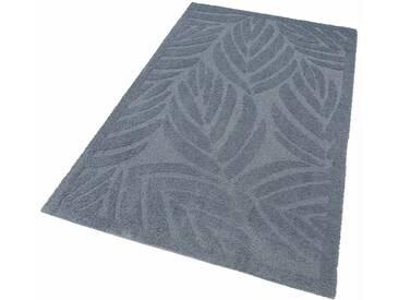 my home Selection Hochflor-Teppich »Jordi«, rechteckig, Höhe 32 mm, Besonders weich durch Microfaser, grau, 32 mm, grau