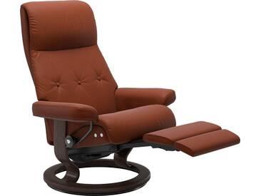 Stressless® Relaxsessel »Sky« mit Classic Base und LegComfort™, Größe L, Gestell wengefarben, braun, copper PALOMA